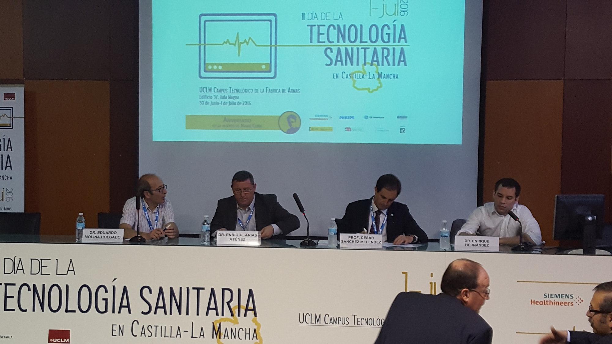 Participación del I3A en el III Día de la Tecnología Sanitaria en Castilla-La Mancha
