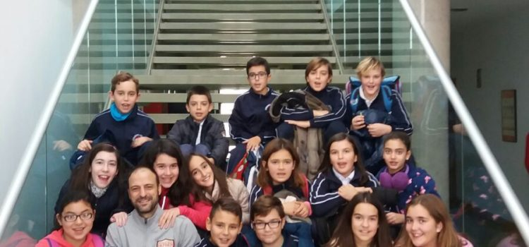 Students  of Colegio Azorin visit the I3A