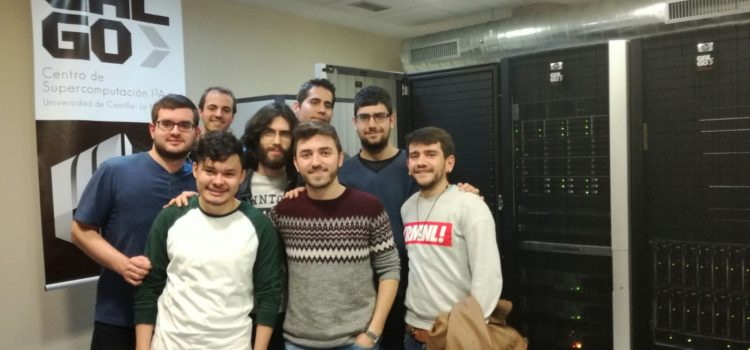 Students of the Master's Degree in Computer Engineering visit our Supercomputing facilities.