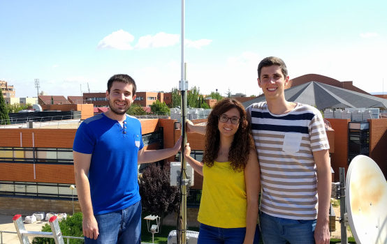 LoRaWAN gateway deployed at the Albacete Research Institute of Informatics