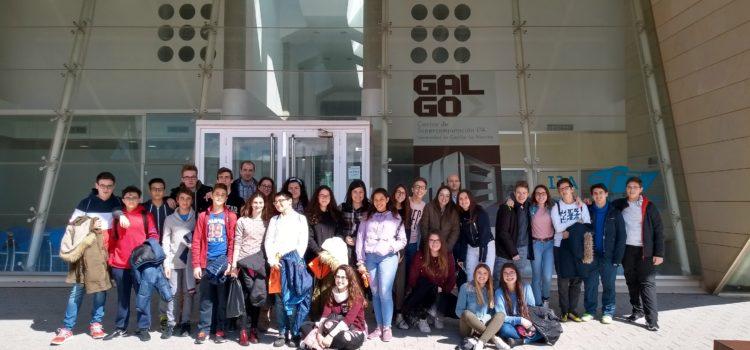Visita de alumnos del IES Jorge Manrique al I3A