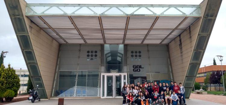 Visita de alumnos del IES Bernardino del Campo al I3A