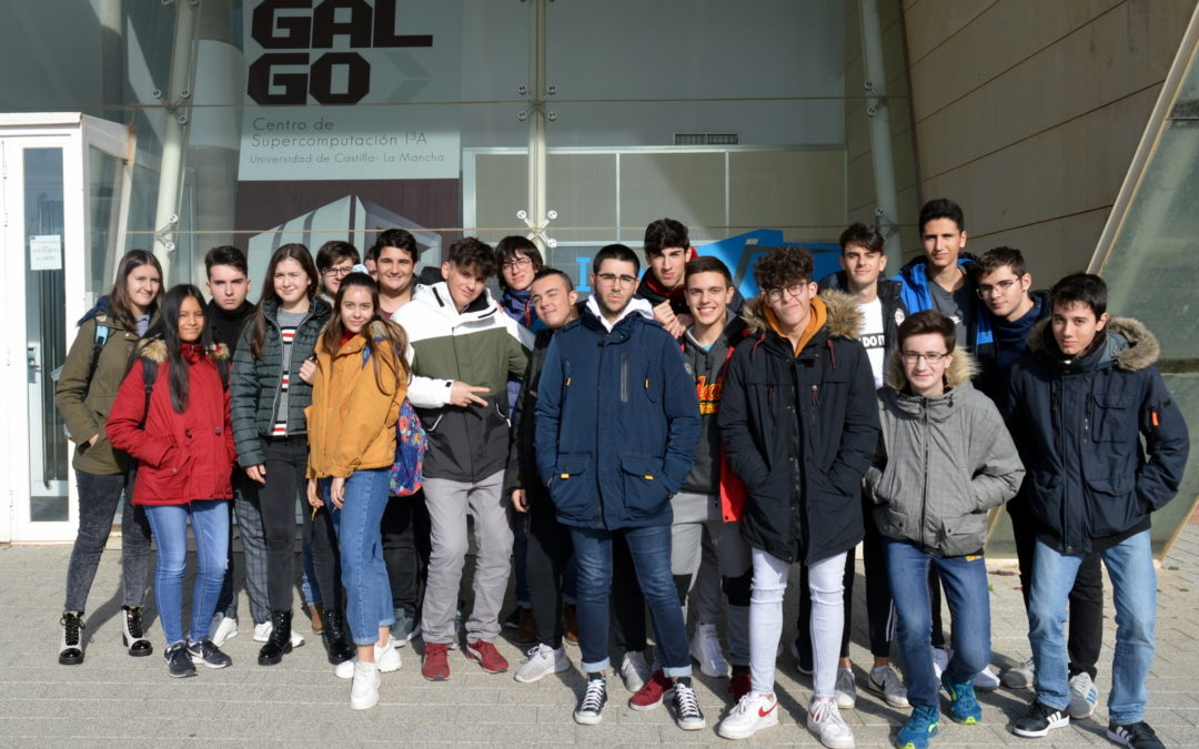"Visit of the ""IES Andrés de Vandelvira"" High School"