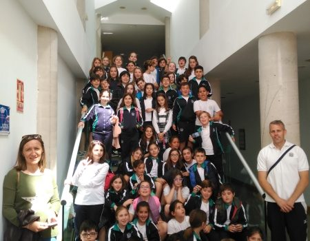 """Visita del Colegio """"La Enseñanza"""" al I3A"""