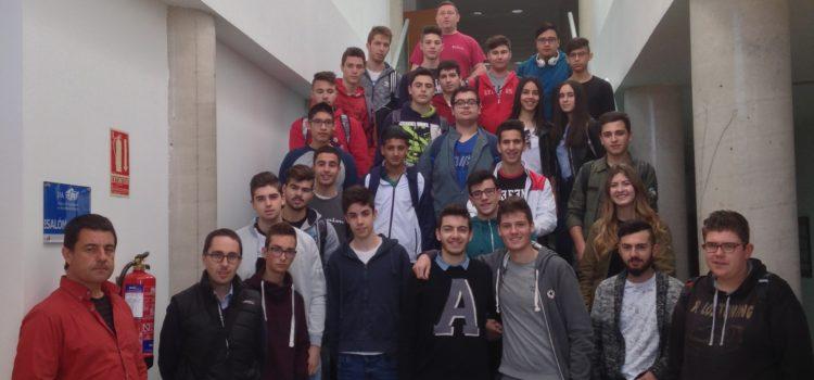 Visita de alumnos del IES Fernando de los Ríos al I3A