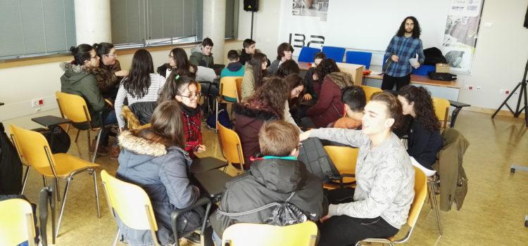 Visita de alumnos del IESO Cinxella de Chichilla al I3A