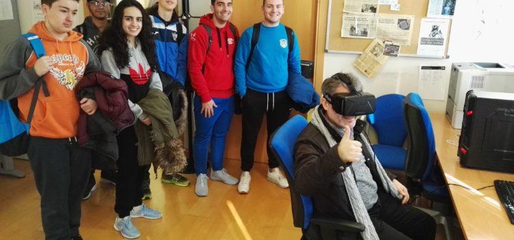 Visita del IES Andrés de Vandelvira al I3A