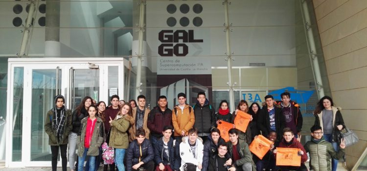 Visita del IES Albasit al I3A el día 1 de marzo de 2018