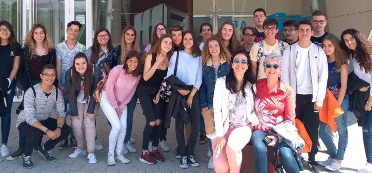 Visita de alumnos del IES Escultor José Luis Sánchez