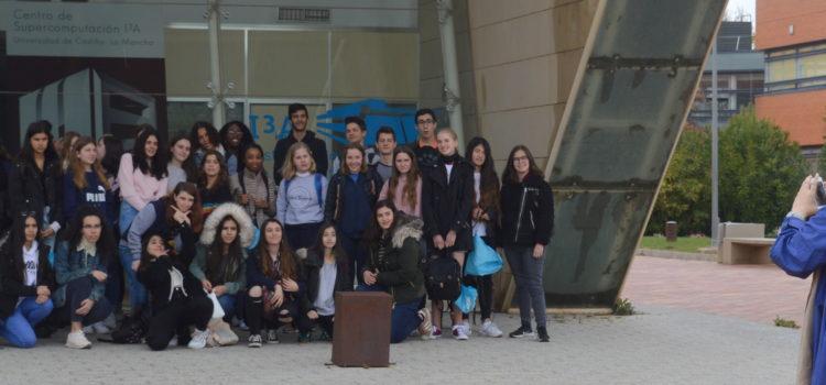 Visita del IES Bachiller Sabuco de Albacete
