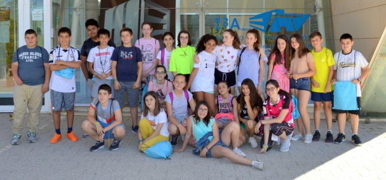Visita del CEIP Cervantes