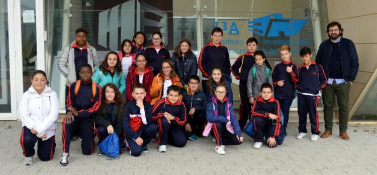 Visita del Colegio Nuestra Señora de Montserrat