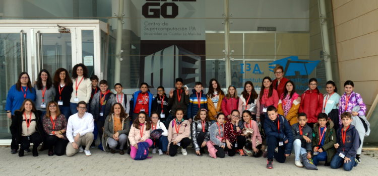 Visita del CEIP Constitución Española (Madrigueras)